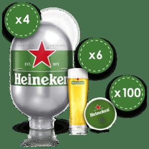 Heineken Starter Kit ! Alles was du benötigst für deine Party ! Let`s go !