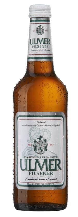 Bauhöfner Ulmer Pilsener 5,2% Vol. 24 x 33 cl MW Flasche