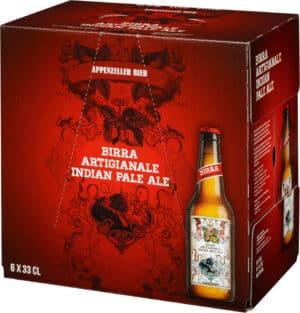 Appenzeller Indian Pale Ale 8% Vol. 24 x 33 cl