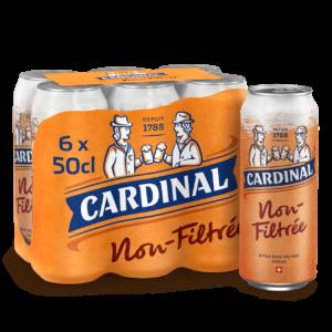 Cardinal Non-Filtrée Kellerbier 4,7% Vol. 24 x 50 cl Dose