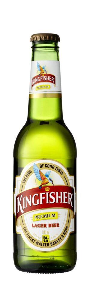 Kingfisher Premium Beer 4,8% Vol. 24 x 33 EW Flasche Indien