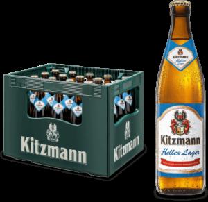 Kitzmann Weissbier 5,4% Vol. 20 x 50 cl MW Deutschland