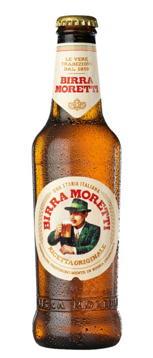 Birra Moretti Lager 4,6% Vol. 24 x 33 cl Italien
