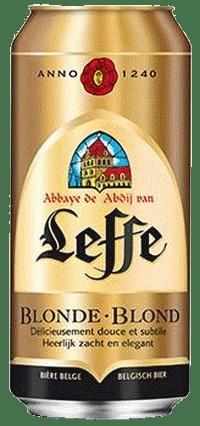 Leffe blonde 6,6% Vol. 24 x 50 cl Dosen Belgien