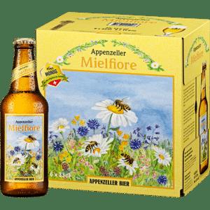 Appenzeller Honigbier Mielfiore 4,6% Vol. 24 x 33 cl
