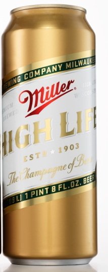 Miller High Life Champagne of Beer 4,7% Vol. 6 x 94,6 cl