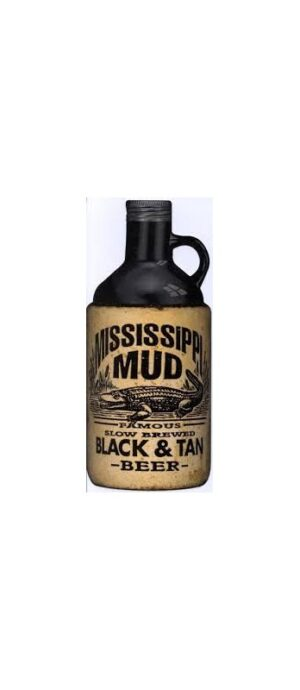 Mississippi Mud Black & Tan Beer 5% Vol. 6 x 75 cl Amerika