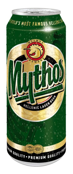 Mythos Lager hell 4,7% Vol. 24 x 50 cl Griechenland