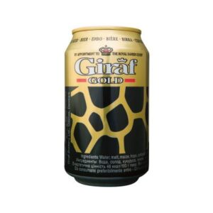Giraf Gold 5,6% Vol. 24 x 33 cl Dose Dänemark