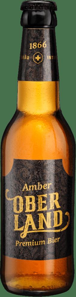 Rugenbräu premium Oberland Amber Bier 5,2% Vol. 24 x 33 cl EW Flasche