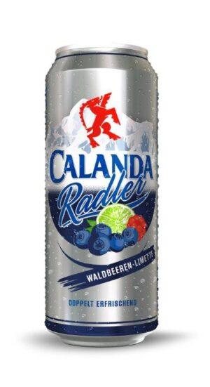 Calanda Radler Waldbeeren & Limette 2,0% Vol. 24 x 50 cl Dosen
