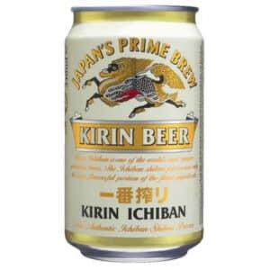 Kirin Ichiban Beer 24 x 33 cl Dose Japan