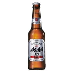 Asahi Super Dry 5% Vol. 24 x 33 cl EW Flasche Japan