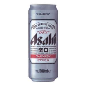 Asahi Super Dry 5,0% Vol. 24 x 50 cl Dose Japan