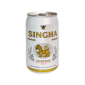 Singha Beer 5,0% Vol. 24 x 33 cl Dose Thailand