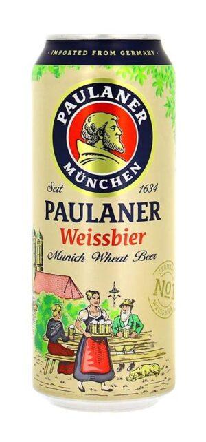 Paulaner Hefe Weissbier 5,5% Vol. 24 x 50 cl Dose
