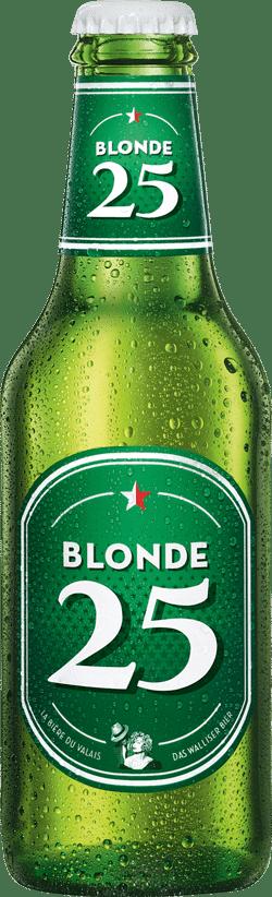 Valaisanne Blonde 25 4,8% Vol. 20 x 25 cl