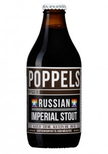 Poppels Russian Imperial Stout 9,5% Vol 24 x 33 cl Schweden