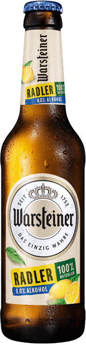 Warsteiner Radler Zitrone alkoholfrei 24 x 33 cl Deutschland