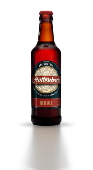 Hüttenbräu Red Ale 4,8% Vol. 24 x 33 cl