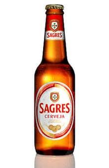 Sagres Branca Cerveja 5% Vol. 24 x 33 cl Portugal