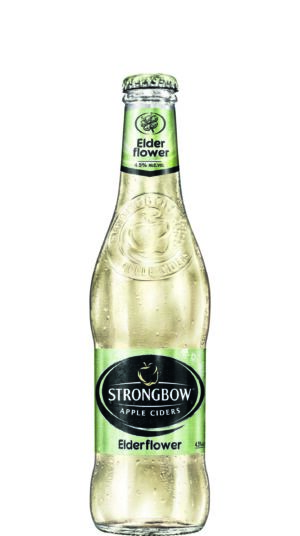 Strongbow Elderflower Cider 4,5% Vol. 24 x 33 cl EW Flasche