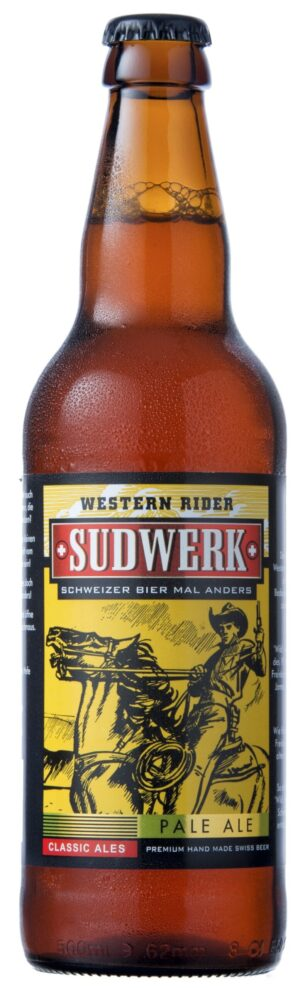 Sudwerk Western Rider – Pale Ale 5% Vol. 24 x 33 cl