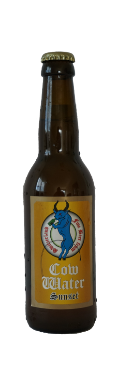 "Cow Water Sunset ""Blond Ale Style"" 24 x 33 cl EW Flasche"