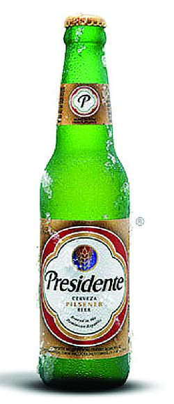 Presidente beer 5% Vol. 24 x 33 cl Dominikanische Republik