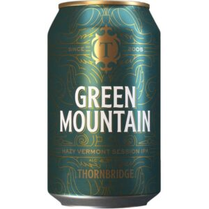 Thornbridge Green Mountain Hazy Session IPA 4,3% 12 x 33 cl Dose