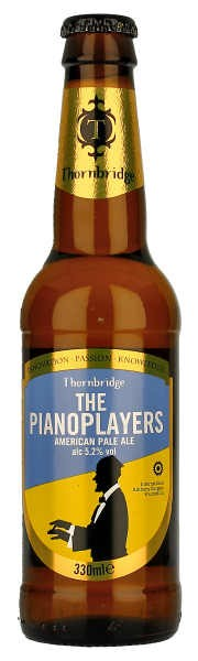 Thornbridge Brewery The Pianoplayers Pale Ale 5,2% Vol. 12 x 33 cl EW Flasche