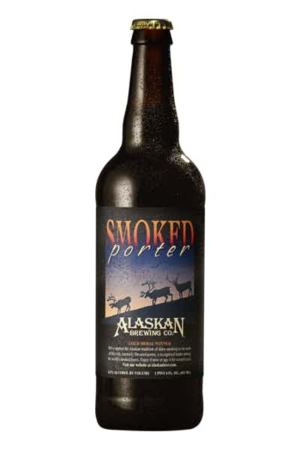 Alaskan Brewing Smoked Porter 6,5% Vol. 12 x 65 cl EW Flasche Alaska / Amerika