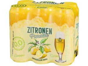 Appenzeller Zitronen Panaché alkoholfrei 24 x 50 cl