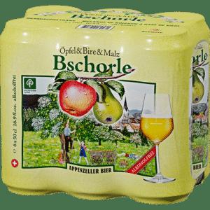 Appenzeller Bschorle alkoholfrei 24 x 50 cl Dose