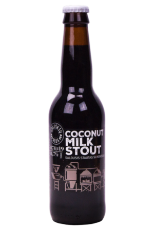 Sakiškių alus Coconut Milk Stout 4,7% Vol. 12 x 33 cl Litauen