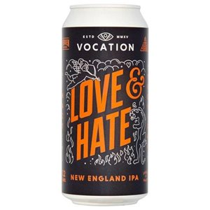 Vocation Love & Hate New England IPA 7,2% Vol. 12 x 44 cl England