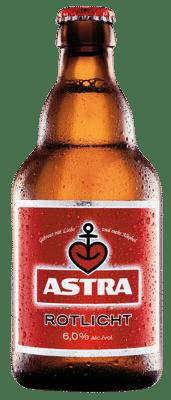 Astra Rotlicht 6,0% Vol. 24 x 33 cl Deutschland
