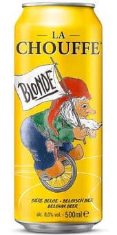 La Chouffe Blonde 8% Vol. 24 x 50 cl Belgien
