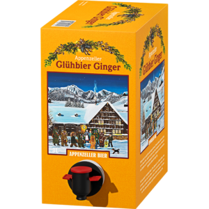 Appenzeller Glühbier Ginger 6,0% Vol. 3 Liter Bag in Box