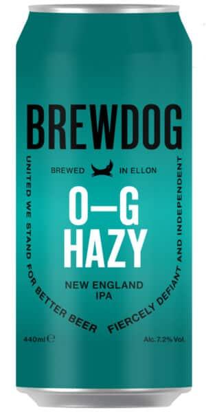BrewDog OG Hazy Jane 7.2% Vol. 12 x 44 cl Dose Schottland