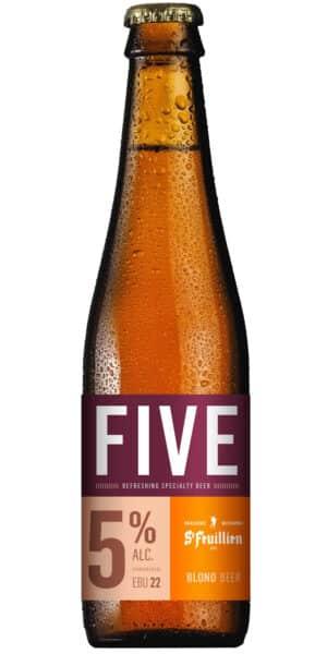 St-Feuillien Five 5% Vol. 24 x 33 cl Belgien