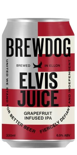 BrewDog Elvis Juice Grapefruit 6.5% Vol. 24 x 33 cl Dose Schottland