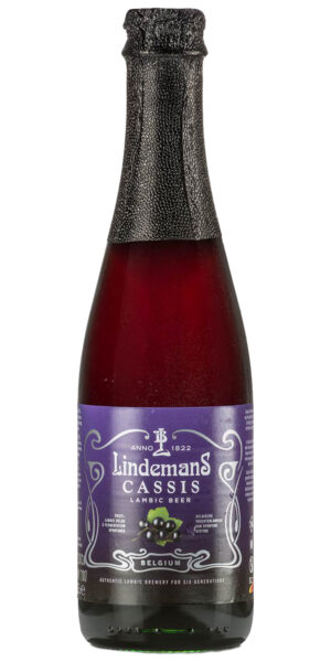 Lindemans Cassis 4% Vol. 24 x 25 cl Belgien