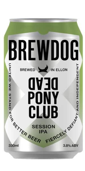 BrewDog Dead Pony Pale Ale 3.8% Vol. 24x33 cl Schottland