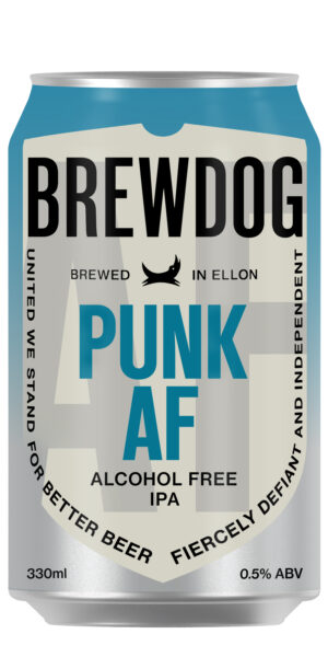 BrewDog Punk AF alkoholfrei IPA 0.5% Vol. 24 x 33 cl Dose Schottland ( ab 17. Mai lieferbar )