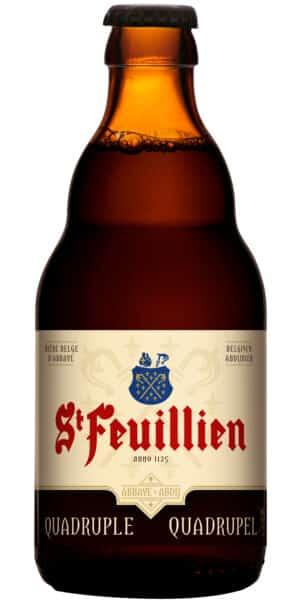 St-Feuillien Quadruple 11% Vol. 24 x 33 cl MW Belgien