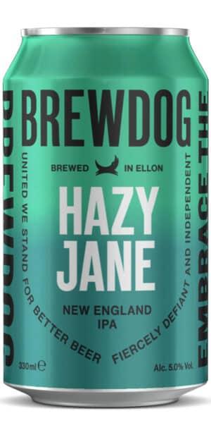 BrewDog Hazy Jane 5% Vol. 24 x 33 cl Dose Schottland