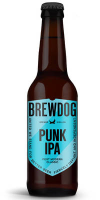 BrewDog Punk IPA 5.4% Vol. 24 x 33 cl Schottland