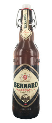 Bernard Celebration Lager 5,0% Vol. 20 x 50 cl Tschechien