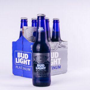 Bud Light Platin Beer 6,0% Vol. 24 x 35,5 cl Amerika